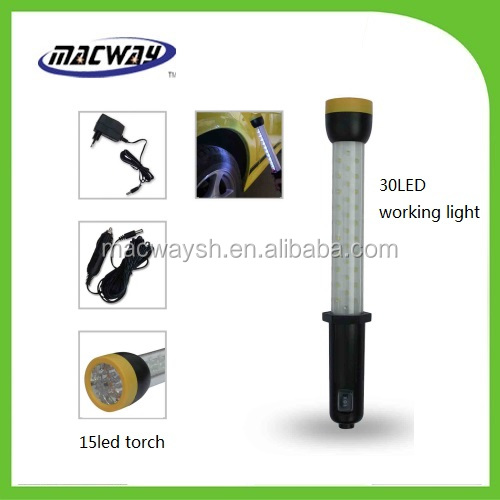 30+15led rechargeable Auto inspection lamps