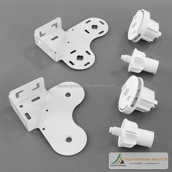 china 38mm metal double roller blind component brackets