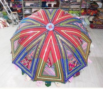 Christmas Hot Fashion Patio Umbrella Outdoor Garden Manufacturer From India