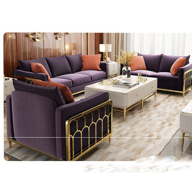 Excellent Modern Rose Gold Stainless Steel Luxury Sofa Sets Living Room Furniture Buy Sofa Sets For Living Room Modern Luxury Sofa Sets Living Room Lamtechconsult Wood Chair Design Ideas Lamtechconsultcom