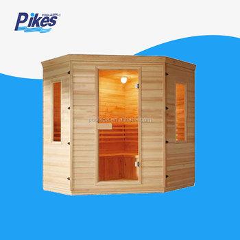 Price Canadian Hemlock Outdoor Dry Sauna Wet Steam Room Oem Wood