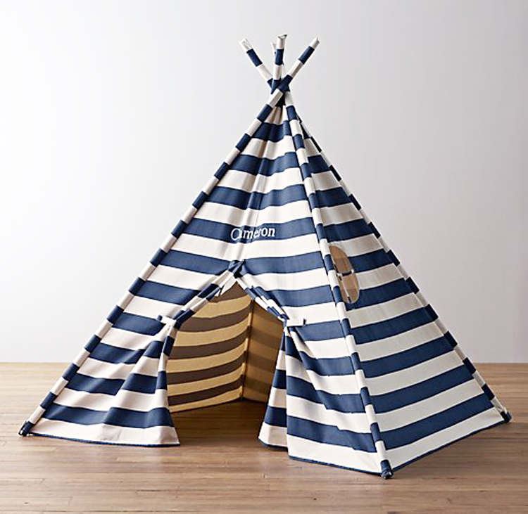 Large Canvas Kids Play Tent Boys S Pentagon Tee Outdoor Tents Product On