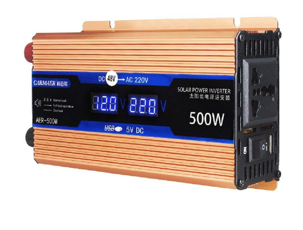 Car inverter/12V/24V/48V to 220V 500W/Car home inverter converter