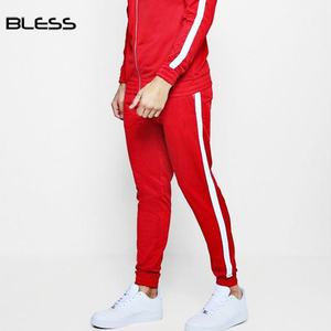 Tracksuits Custom Fitted Red Sweat Suit For Men Jogging Suits Wholesale Men's Track Suit