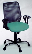 Rg-4 Steel Frame Pwdr Coated Net Mesh Revolving Office Chair