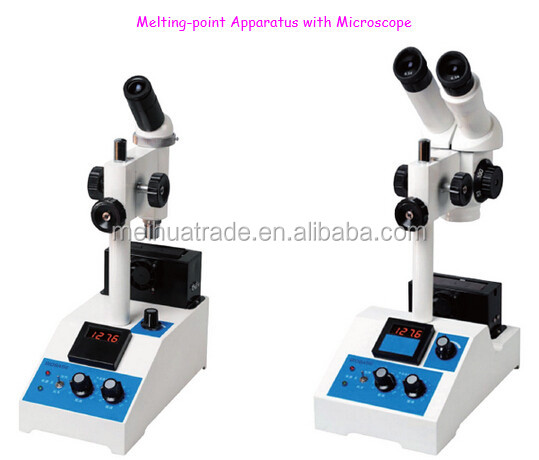 Melting Point Apparatus with Microscope used in phamaceutical industry, chemical industry, textile industry, dyestuff