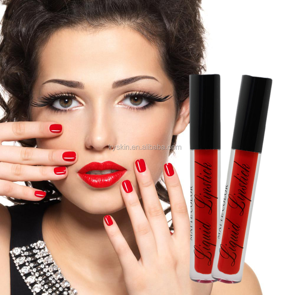 Best Lipstick Brand Private Label Halal Liquid Matte Waterproof Lipstick Brands Lipstick Cosmetic For Beauty