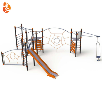 Children play amusement design drawing theme park parts equipment kids climbing playground