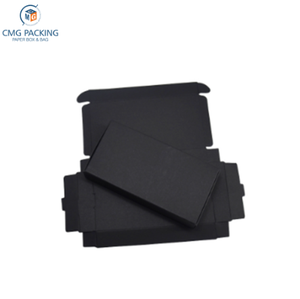 Black Kraft Paper Christmas Gift Packaging Boxes Cardboard Packing Box for DIY Craft Jewelry Handmade Soap Package Box