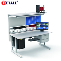 Detall esd workstation mobile cell phone repair work station/table for phone manufacturer