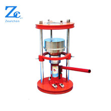 Soil extruder,hand operated, soil testing equipment, controls.