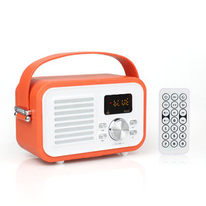 Fashionable USB TF CD MP3 player bluetooth speaker with lcd screen mini portable bluetooth speaker with fm radio