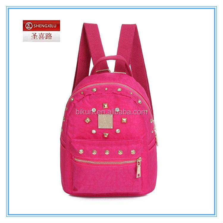 Wholesale 2015 Fashionable cheap nylon high school cute backpack ...