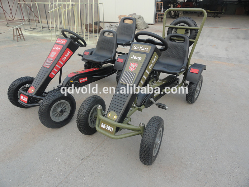 4 Wheel Drive Single Seat Off Road Go karts with Spare Wheel