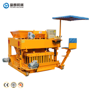 China full auto movable concrete block making machine price list in Indian
