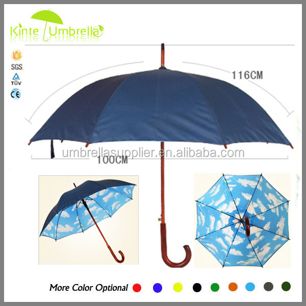 High Quality Umbrella With Bamboo Handle