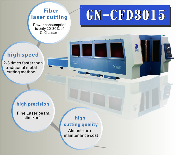 Loading Fiber Cnc Machinery Price for 1000w Metal Cutting