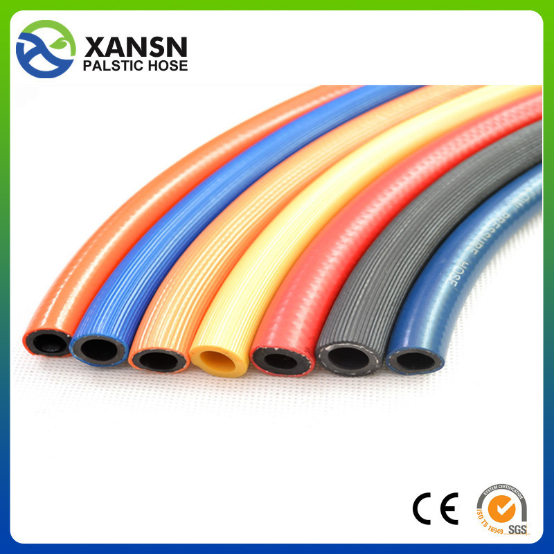 XANSN brand pvc fibre reinforced gas hose pipe molded natural gas rubber hose in taizhou