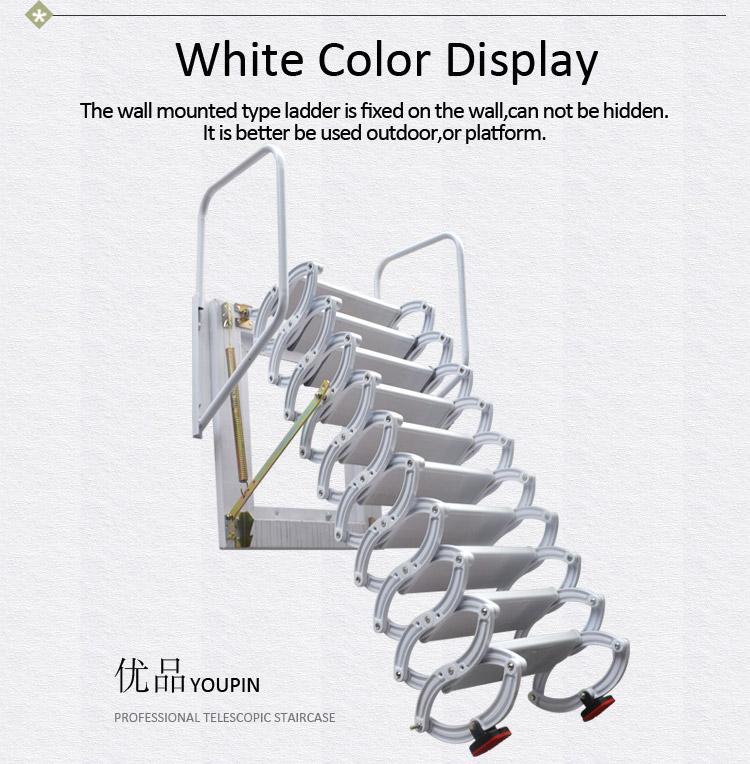 Best Titanium Magnesium Alloy Folding Step Wall Mounted