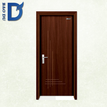 Pvc Plastic Bathroom Door Price India Wood Interior Door For House