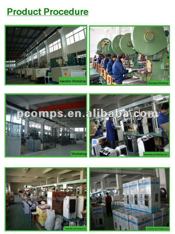 Cina ODM Di Alta Qualità 4000CBM/hr 80 w Uso Della Fabbrica Settore del Commercio All'ingrosso di Acqua di Raffreddamento di Aria Ventilatore Aria Condizionata con 2 Contenitore di ghiaccio