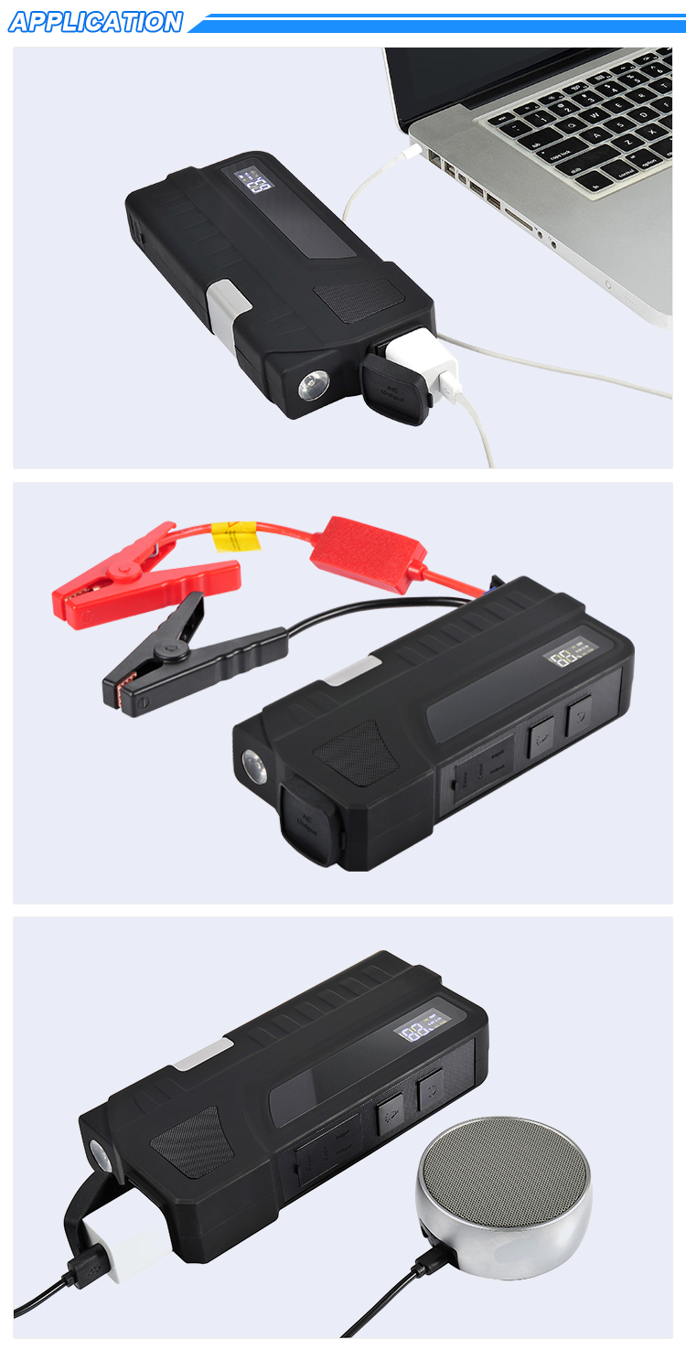 New product emergency tools portable AC power bank car jump starter