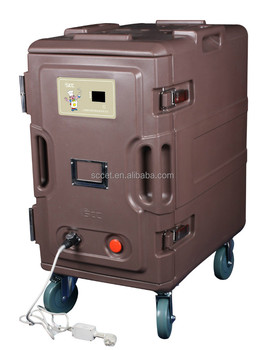 Electrical Warming Food Cabinet Heater Food Cart Thermo Box For Food  Delivery