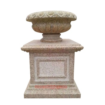 Stone Garden ornaments products marble sculpture flower pot