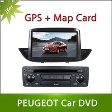 Hot 8inch Peugeot 308 2012 Car DVD GPS Player Car Stereo Navigation Radio Audio Bluetooth A2DP Steering Wheel Control