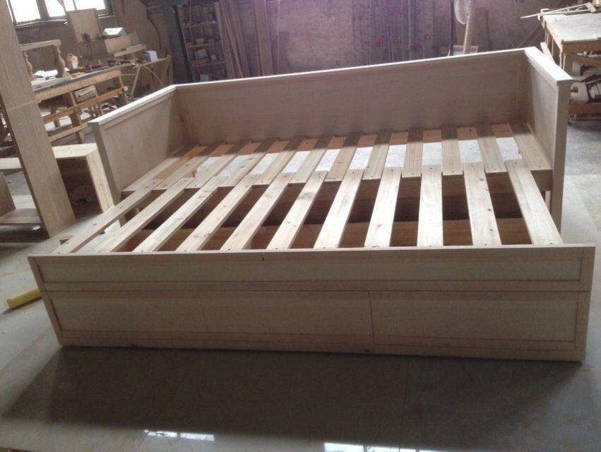 F50037a-1american Dormitorio Moderno Muebles De Roble/madera Maciza ...
