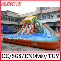 Ali Best selling inflatable slip and slide with factory price