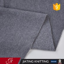 100% Polyester 3#grey double brush single shake Fabric