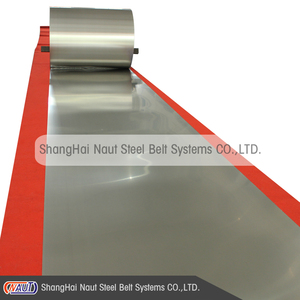 High strength austenitic stainless steel belt conveyor for chemical industry.