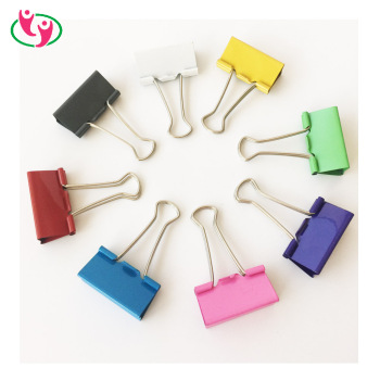Quality 41mm Big Binder Clip in Assorted Colors