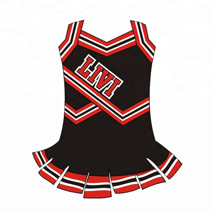 Volle Sublimation der kurzen Hülse reizvolle kundenspezifische Cheerleading-Uniform