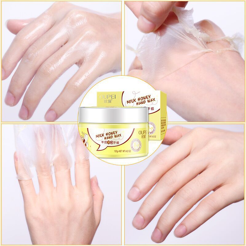 Best selling OEM Cosmetic remove dead skin cuticles heel hand foot peeling mask honey hand mask