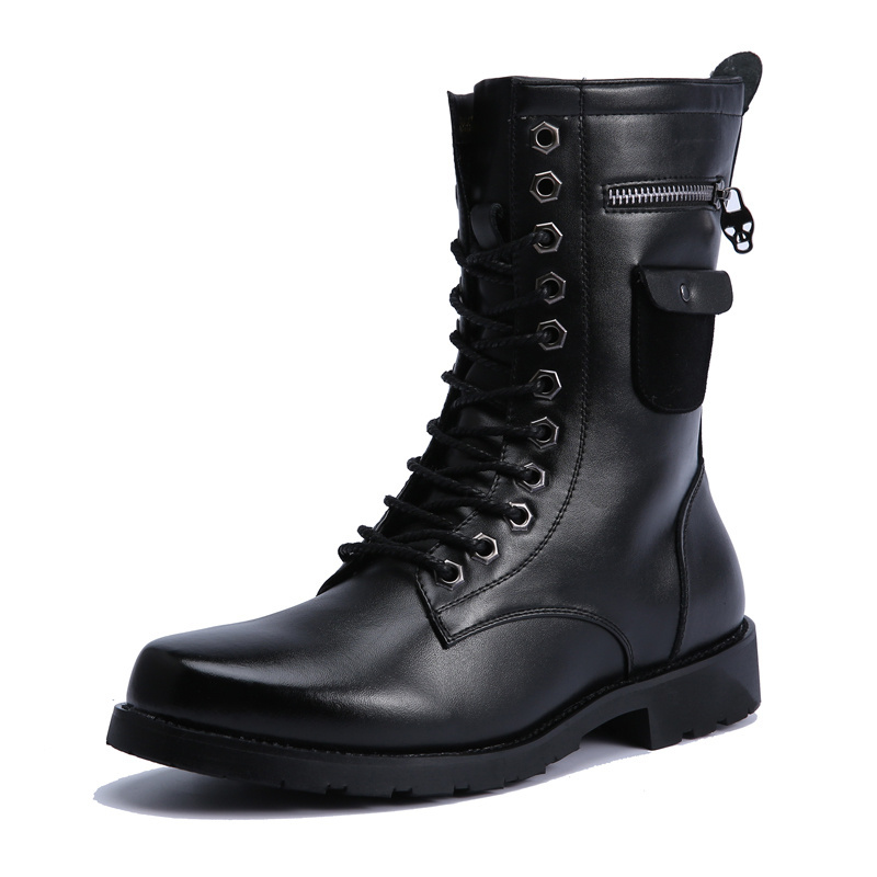 free shipping Hot sale Mens Military combat boots Man