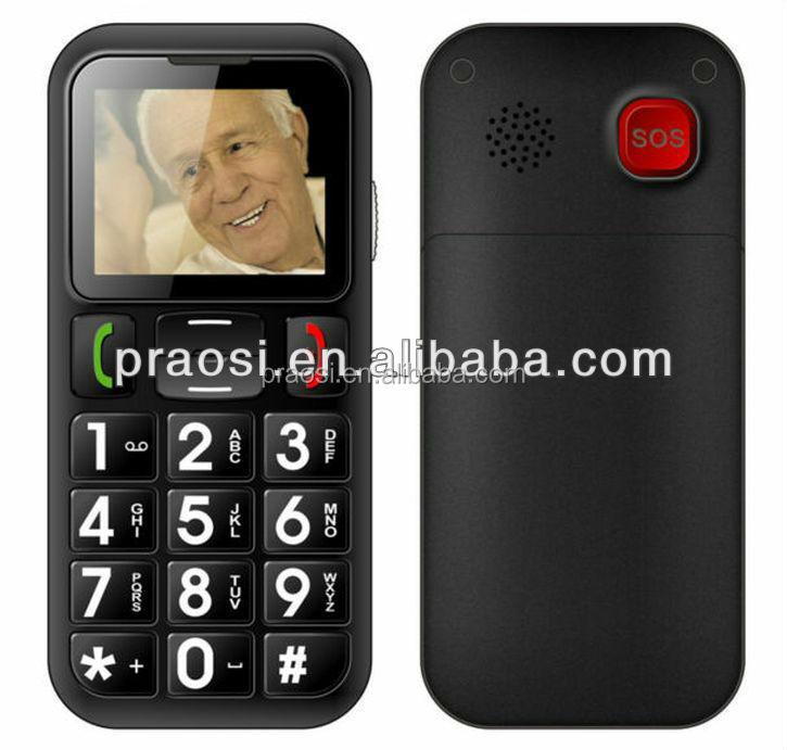 sos w60 t l phone cellulaire gros bouton capteur personnes g es t l phone mobile t l phone pour. Black Bedroom Furniture Sets. Home Design Ideas