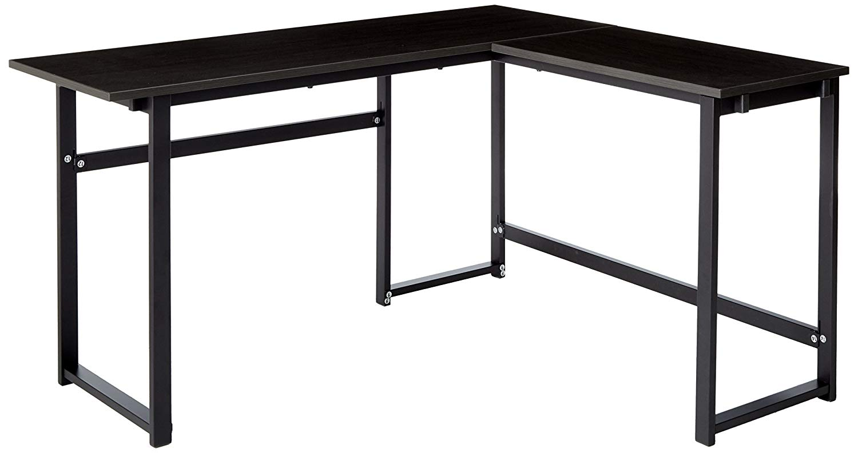 Zinus Urban L-Shaped Corner Computer Desk/Workstation/Home Office/Medium