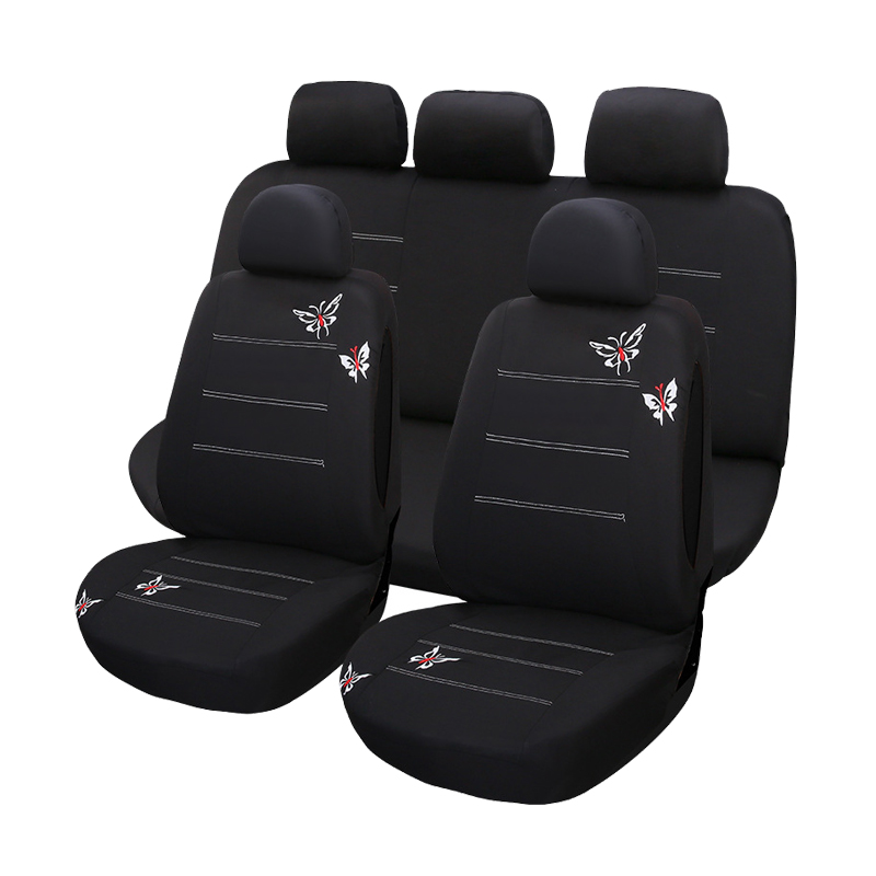 ZT-B-094 Custom made cotton car seat covers for toyota fielder bench