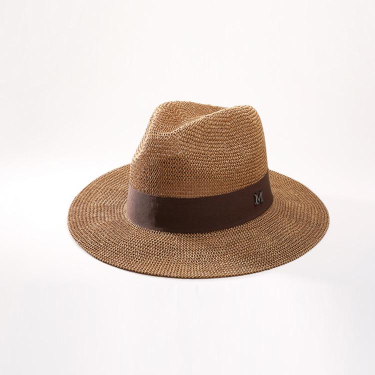 3b0a2904f1094 Al por mayor los hombres de encargo baratos papel Panamá sombreros de paja