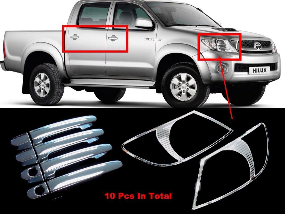 FRONT BUMPER CLIPS GRILL FOR NEW TOYOTA HILUX MK6 SR5 VIGO PICKUP 2005-2011