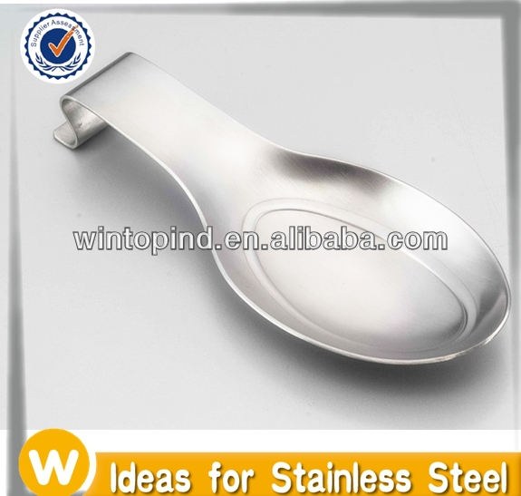 Stainless Steel Oval Spoon Rest