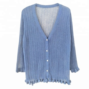 Knitted Fully Body Nurse Cardigan Sweater,Open Knit Sweaters For Women