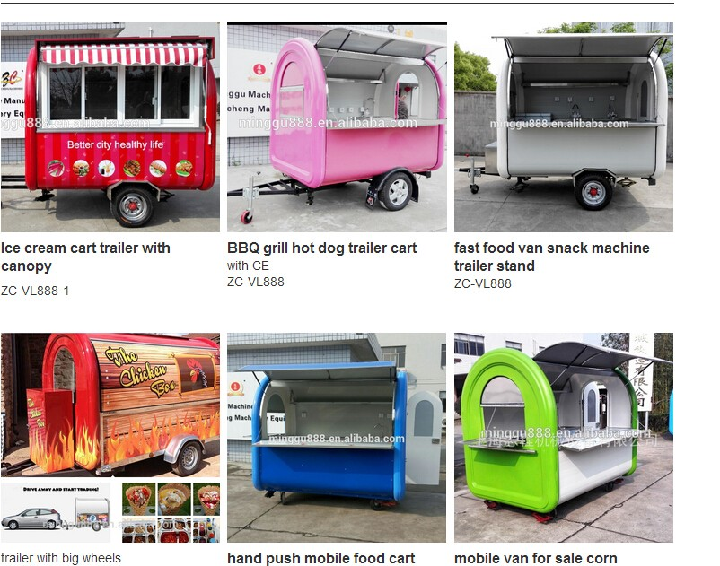Hand Push Food Cart For Sale Minggu Food Cart Franchise ...