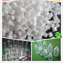 Virgin and recycled PET chips / PET polyester resin / Bottle Grade PET raw materials