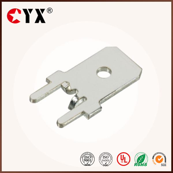 250 series,PCB soldering terminal lug,upright brass terminal connector,CYX6-009-6.3*0.8