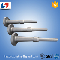 OEM Customized 35KGS carbon steel casting for tractor bearing boat motor