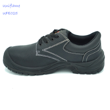 China supplier athletic safety work shoes cow leather boots for workshop
