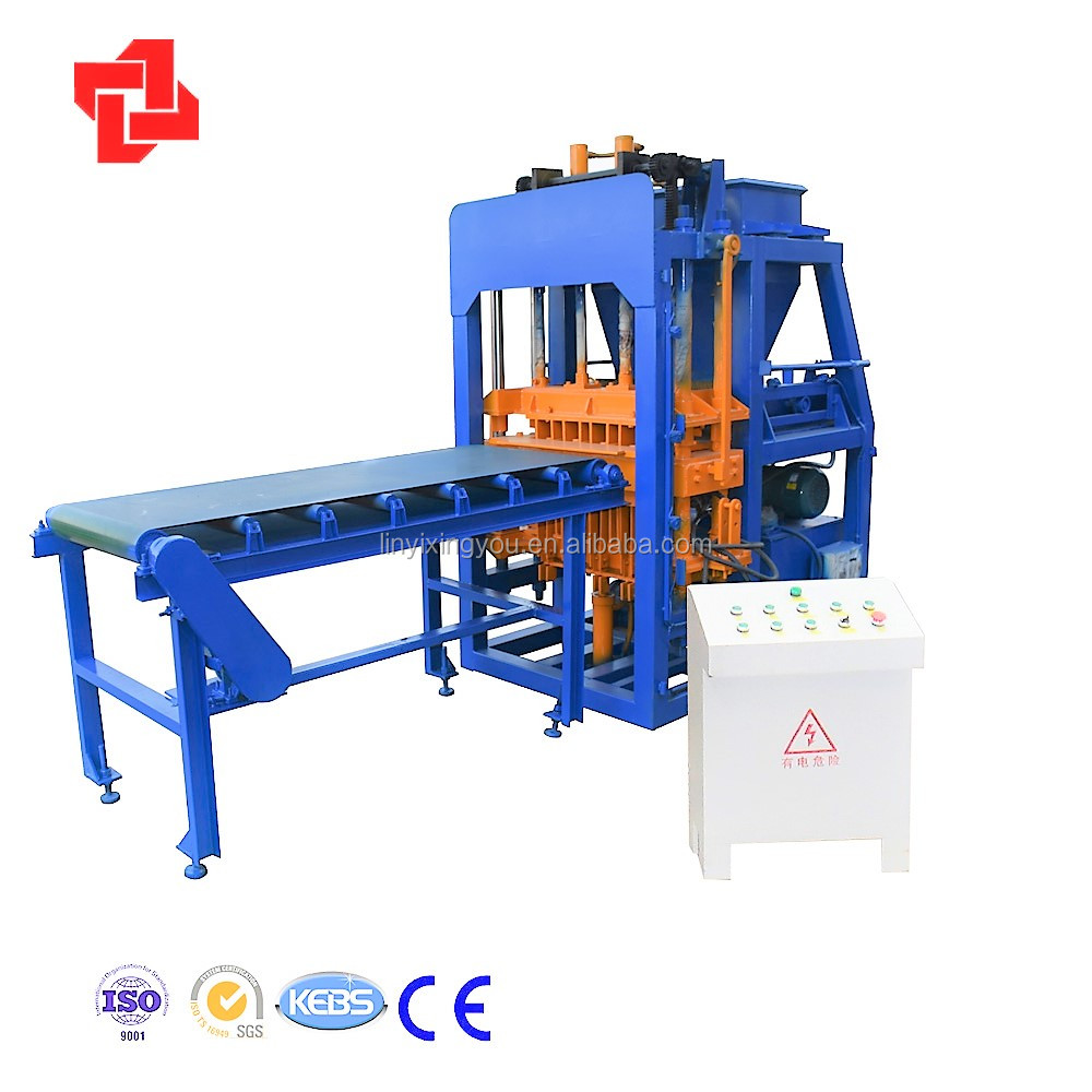 construction equipment XYM4-10 fully automatic soil brick making machine